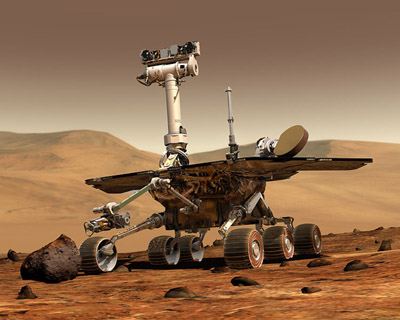 Mars Rover photos